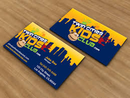 Playful Colorful Club Business Card Design For A Company By Jlg