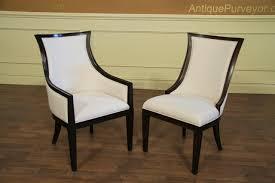 high end upholstered furniture. ebonized solid oak transitional upholstered back dining chairs high end furniture