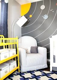 outer space nursery amazing space themed nursery love how this will grow with the child too