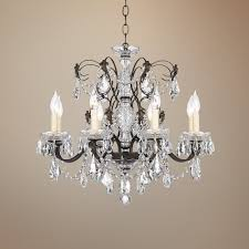 exciting bronze and crystal chandelier 2