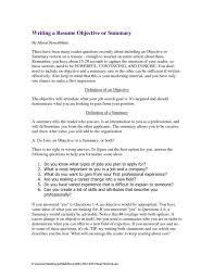 Sample Profile Statement For Resume How To Write A Resume Summary Sample Profile Marketing Manager Exa 74
