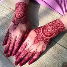 Red Cone Mehandi Designs Classic Red Henna Powder Mehndi Design For Women Best