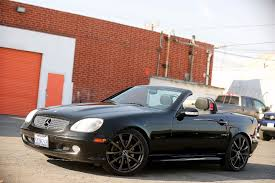 2001 Mercedes-Benz SLK320 - V6 - Leather city California MDK ...