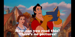 Image result for there's no pictures gaston