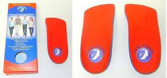 Pure Stride Orthotics Arch Supports Professional 3 4 Length