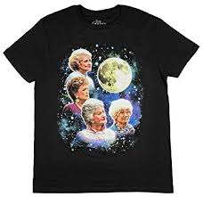 The <b>Golden</b> Girls <b>Women's</b> Four <b>Golden</b> Girls Moon <b>T</b>-<b>Shirt</b>
