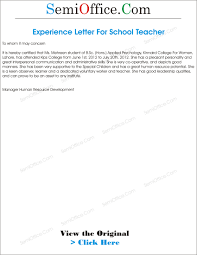 Brilliant Ideas Of College Teaching Experience Certificate Format