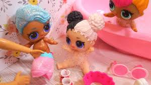 barbie wakes up lol surprise dolls for morning routine