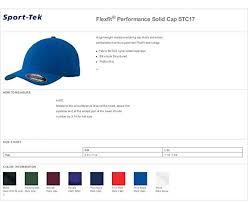Flexfit Size Chart Sport Tek Mens Flexfit Performance Solid Cap