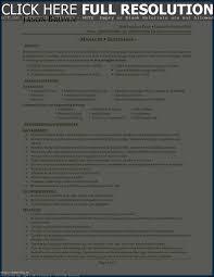 Resume For A Restaurant Resume Template