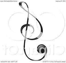 Treble Clef Music Black Treble Clef Music Note Soidergi