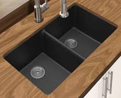 winpro new black granite quartz composite sink