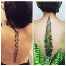 спина как полотно оригинальные татуировки на позвоночнике