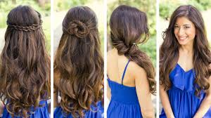 Very Easy Cute Hairstyles Cute Fast Easy Hairstyles For School Fusion Hair Extensions Nyc