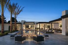 reflecting a contemporary desert style this bali inspired home was designed by calvis wyant luxury homes located in scottsdale arizona