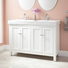 double vanity with one sink. double vanity with one sink 0