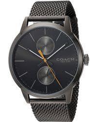 shop men s coach watches from 126 lyst coach metrolpolitan 14602122 lyst