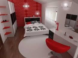 Red And White Bedroom U2013 Interior Designing Ideas