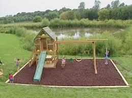 Building A Backyard Playground Backyard Playground Building Plans Design  And Ideas