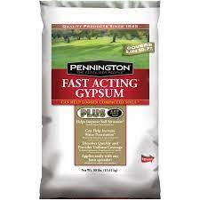 pennington fast acting gypsum 30 lb