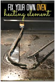 How To Fix Oven Fix Your Own Oven Heating Element