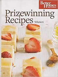 Small Picture Better Homes Gardens Prizewinning Recipes Volume 6 various