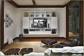 wall mounted flat screen tv cabinet white bathroom wood crafts ideas for s corner vanity units