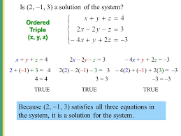 solution to system of equations calculator jennarocca