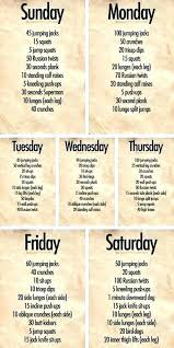 8 Week Workout Plan To Get Ripped At Home