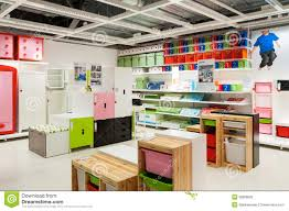 Ikea Furniture Store Kids Zone Editorial Stock Image