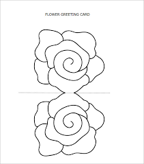 Blank Birthday Card Template