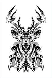 How To Create A Stylish Deer With Brushes And Graphic Styles In
