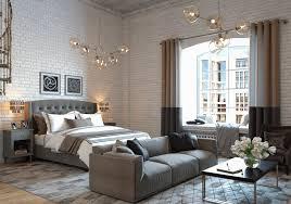 apartment studio furniture. 3-loft-studio-apartment-with-mezzanine-gray-furniture- Apartment Studio Furniture S