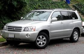 File:2001-2003 Toyota Highlander Limited -- 10-12-2011.jpg ...