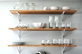 wall mounted kitchen shelves hpianco com with regard to ideas 2