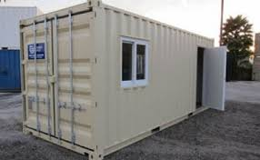 Office in container Inside 20ft Office Container American Trailer And Storage Office Containers Ats