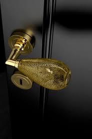 door handle murano gl traditional goccia black gold