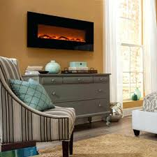 onyx refurbished wall mounted electric fireplace 50 dimplex prism touchstones with heat in black