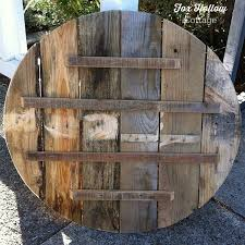 They are equally popular even today. How To Make Pallet Wood Into A Round Circle Shape Fox Hollow Cottage