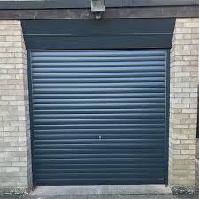 seceuroglide manual colour finish aluminium roller door insulated