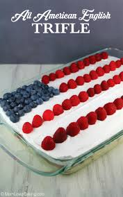 All American English Trifle Mom Loves Baking