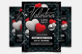 Valentines Flyers Valentines Day Psd Flyer Template