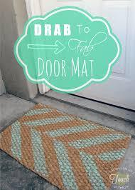 Ikea Sindal Door Mat Hacks - Poofy Cheeks