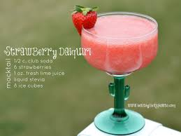 Strawberry Daiquri Recipe Strawberry Daiquiri Mocktail Healthy Living How To