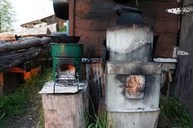 homemade wood stove design ideas
