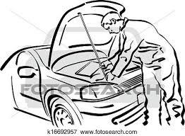 auto repair clip art. Exellent Clip Clip Art  Auto Repair Fotosearch Search Clipart Illustration Posters  Drawings Intended Repair