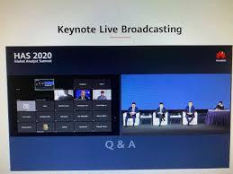 Huawei Global Analyst Summit 2020 ...