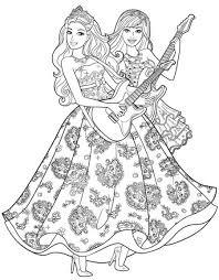 Disegni Da Colorare Barbie Principessa Fredrotgans
