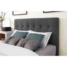 gray upholstered headboard queen inspirations and pictures