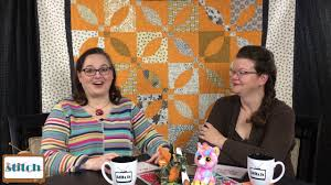 The Stitch TV Show - Episode 212 | quilting ... the stitch tv show ... & In episode 212 of The Stitch TV Show, we talk about sewing curves, and  measuring progress in quilting. The quilt hanging behind us is from our  pattern, ... Adamdwight.com